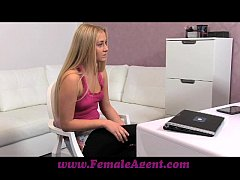 FemaleAgent Hot 18 year old recieves her first ...