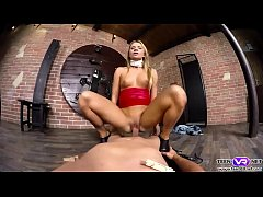 Hot babe Angel Piaff as a sexy mistress VR porn