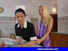 Sammy Jayne and her maid Sophie  Lesbian sex