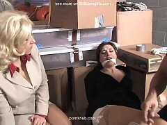 2 Women in Warhouse  Free Bondage Porn webcam webcams cams