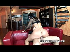 Czech hottie Simone Style takes some dick in th...