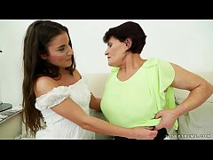 Mature woman and her much younger lesbian friend