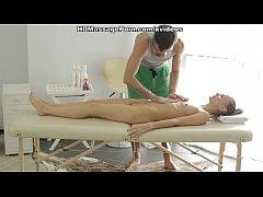 Nude massage gets the blondie sex-crazy scene 1