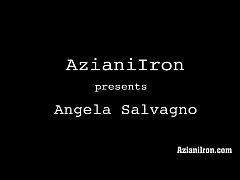 Aziani Iron Angela Salvango female bodybuilder ...