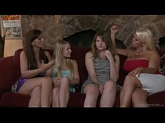 Virgin teen and her friend's mommy - Alura Jens...