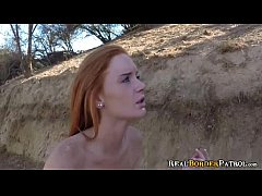 Petite Redhead Alex Tanner Gets Facial From Bor...