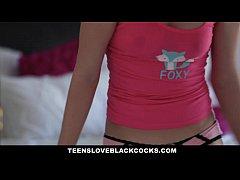 TeensLoveBlackCocks - Teen Wakes up Hot Step-Brother to fuck