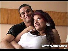 Charly y su novia en un hardcore estupendo