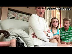 Stepmom in glasses caught teen Ava Hardy poundi...