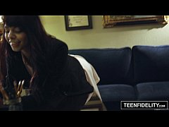 TEENFIDELITY - Schoolgirl Gina Valentina Creampied by the Dean