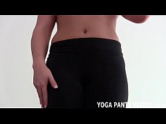 I want to show you the new yoga pants I just bo...