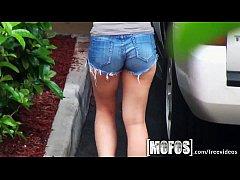 Mofos - Aubrey Sky shows off her booty