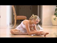 Feasible Girl Nude Yoga and gymnastics