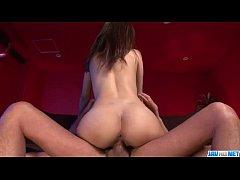 Hinata Tachibana fucked hard and creamed on tits