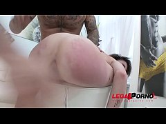 French slut Carla Rose welcome to Gonzo with DA...