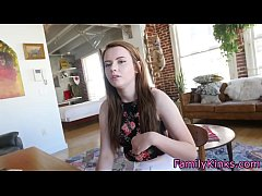 Real stepsister fucked hard after school