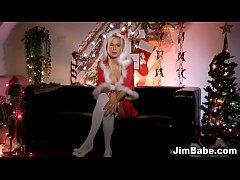 Xmas ho in stockings rubs