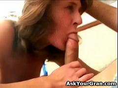 great 60 yo granny hot body fuck and facial