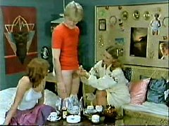 Classic Porn  Family-Kids play doctor and mom j...