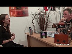 Amateur anal casting couch of a skinny french b...