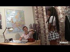 Young Ebony After School Vidéo porno