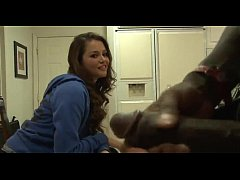 Amateur interracial teen blowjob WHAT'S HER NAME???