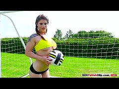 4 Big Tits Sporty girls Lucia Love, Michelle, M...