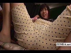 Subtitled CMNF Japanese AV Azusa Nagasawa vibra...