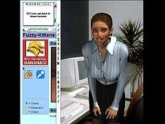 up the wahzoo - strip the tech ebaum newground wetpussygames