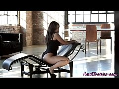 Bigass eurobabe assfucked in highheels