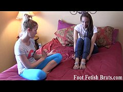 Free yoga instruction for a foot worshiping ses...