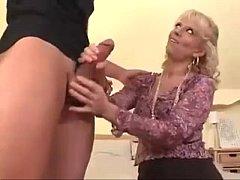 Sexy Milf Teaches Boy How To fuck Ass.