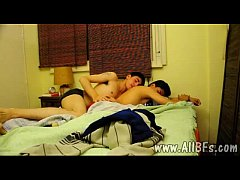 Playful boy tapes his gay bonking with a hot hunk