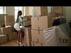 Katia Dé Lys Wraps Her Lusty Lips Around A Cock In A Box