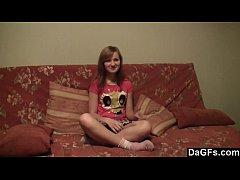 Slutty teen delighted by hefty facial