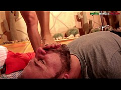 the host part 3 - barefoot licking and humiliation