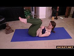 Redheaded Stepsister in Yoga Pants - HD