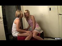WANKZ- Hot Young Girlfriends Make Each Other Cream