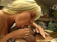Dutch Blonde Finger banged And Fucked Hard