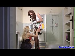 British lesbians sixtynining in stockings