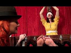 April O'Neel's Ticklish Interrogation