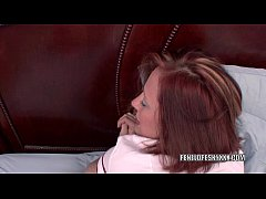 Redhead MILF Penelope Sky is getting her twat f...