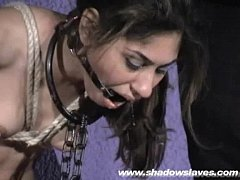 Sahara Knite nude whipping in indian bdsm of famous GOT pornstar tied