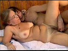 Granny Got Her Hairy Old Ass Anal Fucked