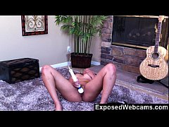 Hot Black Maid Does Some Webcam