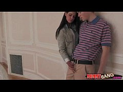 Gorgeous milf India Summer threesome with teen ...