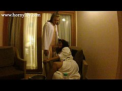 indian aunty lily in hotel with her boyfriend hardcore sex