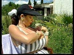 Gina Colany masturbates
