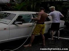 Hot Jocks Car Wash Service Turns To Crazy Gay F...