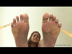 Isis Taylor Soles On Glass